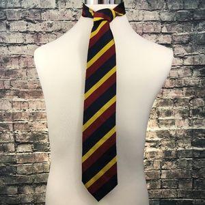 J. Crew Men's Silk College Striped Necktie